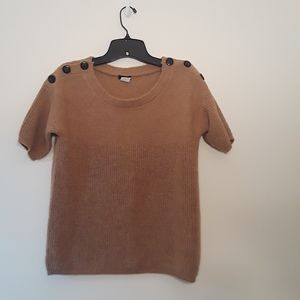 J Crew Short Sleeve Sweater